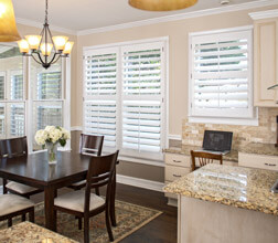 Heritage Blinds in a Kitchen